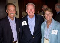 Steve Worley, Children's Hospital of New Orleans, and Ken and Pat Ackerman, Integrated Healthcare Strategies